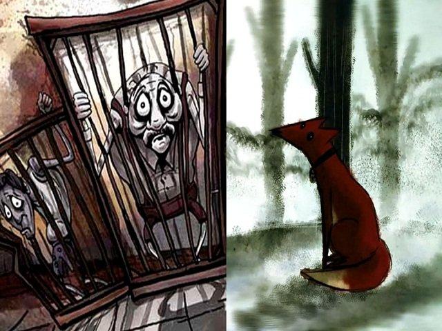 دو فیلم انیمیشن «آدم خانگی» و «روباه»