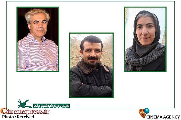 داوران بخش مسابقه دانشجویی ایران جشنواره پویانمایی