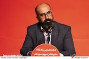 محمد زرویی نصرآباد در نشست خبری دوازدهمین جشنواره بین المللی فیلم ۱۰۰