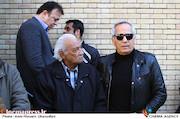 مجید مظفری در مراسم تشییع پیکر مرحوم «خشایار الوند»