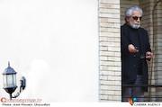 منوچهر شاهسواری در مراسم تشییع پیکر مرحوم «خشایار الوند»