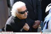 سعید پیردوست در مراسم تشییع پیکر مرحوم «خشایار الوند»