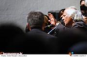 سیروس الوند در مراسم تشییع پیکر مرحوم «خشایار الوند»
