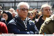 مسعود رایگان در مراسم تشییع پیکر مرحوم «خشایار الوند»