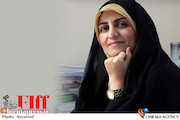 فاطمه جواهرساز مدیر بازار فیلم سی و هفتمین جشنواره جهانی فیلم فجر