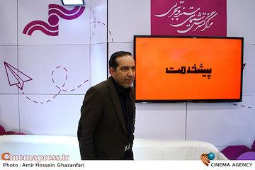 عکس/ بازدید حسین انتظامی از یازدهمین جشنواره بینالمللی پویانمایی تهران