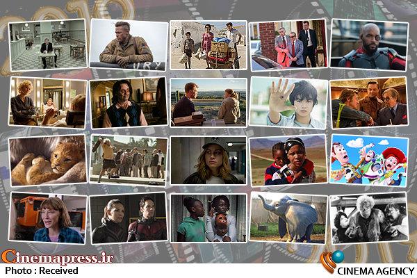 بیست فیلم مهم ۲۰۱۹