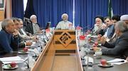 جلسه مشترک مسئولین اقامه نماز کشور با حجت الاسلام والمسلمین محسن عرفاتی