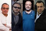 سعید آقاخانی، بهرنگ توفیقی و تیم دونفره علیرضا نجفزاده و محمدحسین لطیفی