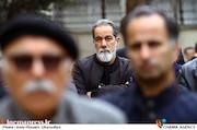 سعید سهیلی در مراسم تشییع پیکر مرحوم «حبیب کاوش»