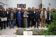 مراسم تشییع پیکر مرحوم «حبیب کاوش»