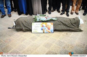 عکس/ مراسم تشییع پیکر مرحوم «حبیب کاوش»
