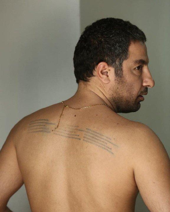 تبریک تولد نوید محمدزاده توسط سعید روستایی با انتشار عکسی از فیلم متری شیش و نیم