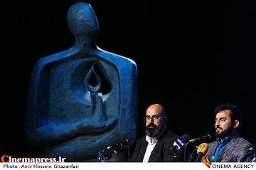 عکس/ نشست رسانه ای هفته هنر انقلاب اسلامی