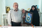 دیدار مسئولان بسیج هنرمندان با «حلیمه سعیدی» بازیگر و مادر شهید