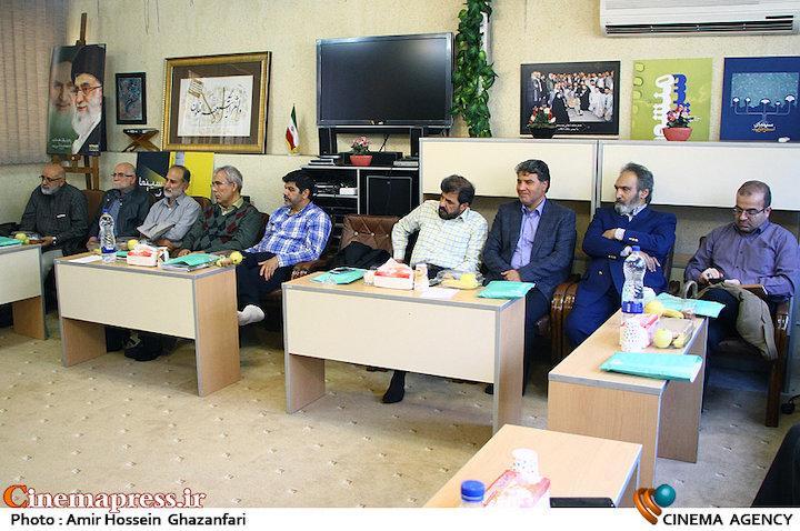 جلسه هیات اسلامی هنرمندان