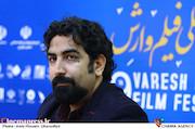 مرتضی رنجبران در نشست رسانه ای نهمین جشنواره بین المللی فیلم وارش
