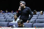 حمید غفاریان در نشست خبری سیوهفتمین جشنواره جهانی فیلم فجر