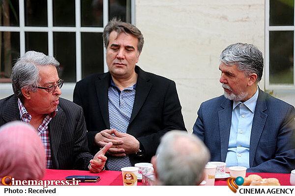 دیدار نوروزی وزیر فرهنگ و ارشاد اسلامی با هیأت مدیره خانه موسیقی و جمعی از هنرمندان موسیقی