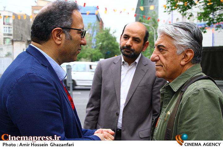 مراسم افتتاحیه سیوهفتمین جشنواره جهانی فیلم فجر؛ رضا کیانیان