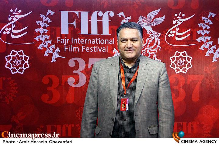 علیرضا تابش در اولین روز سیوهفتمین جشنواره جهانی فیلم فجر