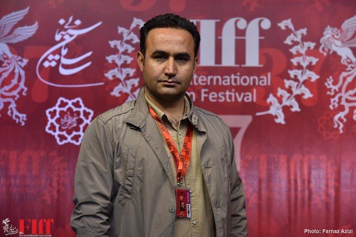 نوید محمودی در جشنواره جهانی فیلم فجر