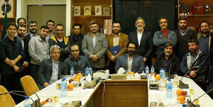 مراسم معارفه مدیر مرکز مستند سوره