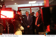 بازدید عباس صالحی از سی و هفتمین جشنواره جهانی فیلم فجر