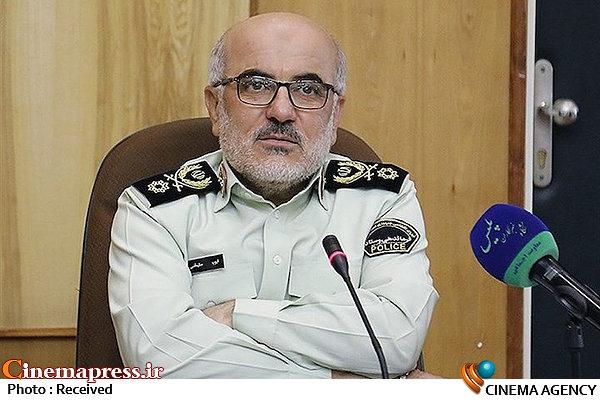 سردار ایوب سلیمانی جانشین فرمانده نیروی انتظامی
