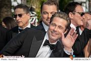 برد پیت، لئوناردو دیکاپریو و کوئنتین تارانتینو در جشنواره فیلم کن ۲۰۱۹