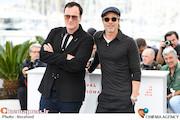برد پیت و کوئنتین تارانتینو در جشنواره فیلم کن ۲۰۱۹