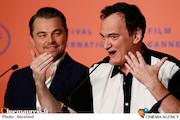 کوئنتین تارانتینو و لئوناردو دیکاپریو در جشنواره فیلم کن ۲۰۱۹