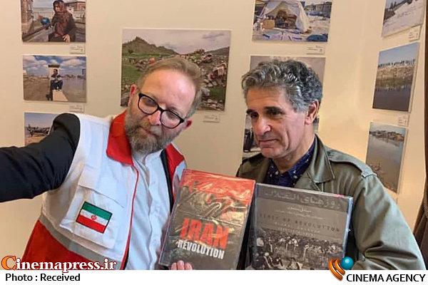 نمایشگاه سیل در جشنواره فیلم کن- بابک برزویه