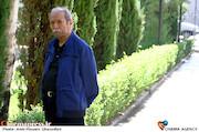علی نصیریان در مراسم تشییع پیکر مرحوم «پرویز بهرام»