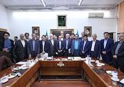 نشست اعضای کمیسیون بهداشت و درمان مجلس شورای اسلامیبا جمعی از مدیران سازمان صداوسیما