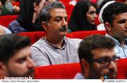 مهدی جعفری در مراسم افتتاحیه شانزدهمین جشنواره بین المللی فیلم کوتاه دانشجویی نهال
