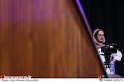 شکیبا علی حسینی در مراسم افتتاحیه شانزدهمین جشنواره بین المللی فیلم کوتاه دانشجویی نهال