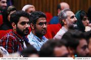 حسین امیری دوماری و پدرام پور امیری در مراسم افتتاحیه شانزدهمین جشنواره بین المللی فیلم کوتاه دانشجویی نهال