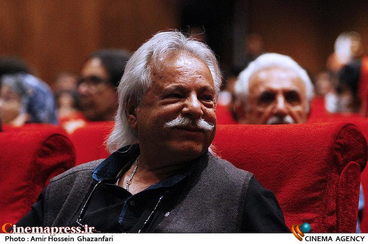 غلامرضا آزادی در مراسم افتتاحیه شانزدهمین جشنواره بین المللی فیلم کوتاه دانشجویی نهال
