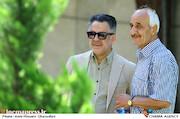 محمدحسین فرحبخش در مراسم تشییع پیکر مرحوم «حسین صفاریان»