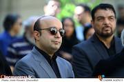 سیاوش صفاریان در مراسم تشییع پیکر مرحوم «حسین صفاریان»
