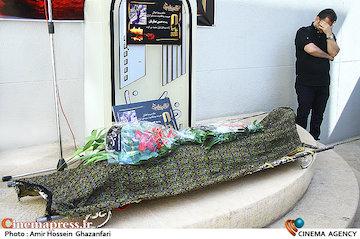 عکس/ مراسم تشییع پیکر مرحوم «حسین صفاریان»