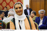 فریبا کوثری در هجدهمین جشن مدیران تولید سینمای ایران