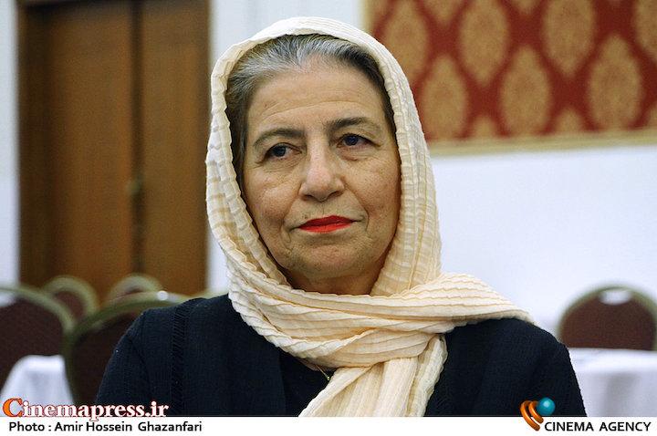 احترام برومند در هجدهمین جشن مدیران تولید سینمای ایران