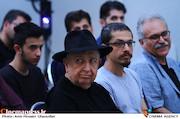 بهمن فرمان آرا در مراسم زادروز عباس کیارستمی