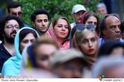 مستانه مهاجر در مراسم زادروز عباس کیارستمی