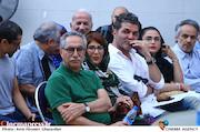 فرهاد توحیدی در مراسم زادروز عباس کیارستمی