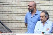 پرویز شهبازی و شهرام شاه حسینی در مراسم زادروز عباس کیارستمی