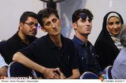 بابک و احمد احمدپور در مراسم زادروز عباس کیارستمی
