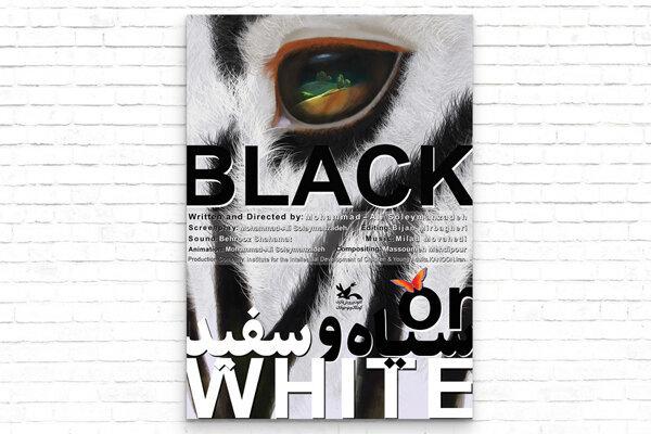 انیمیشن سیاه و سفید